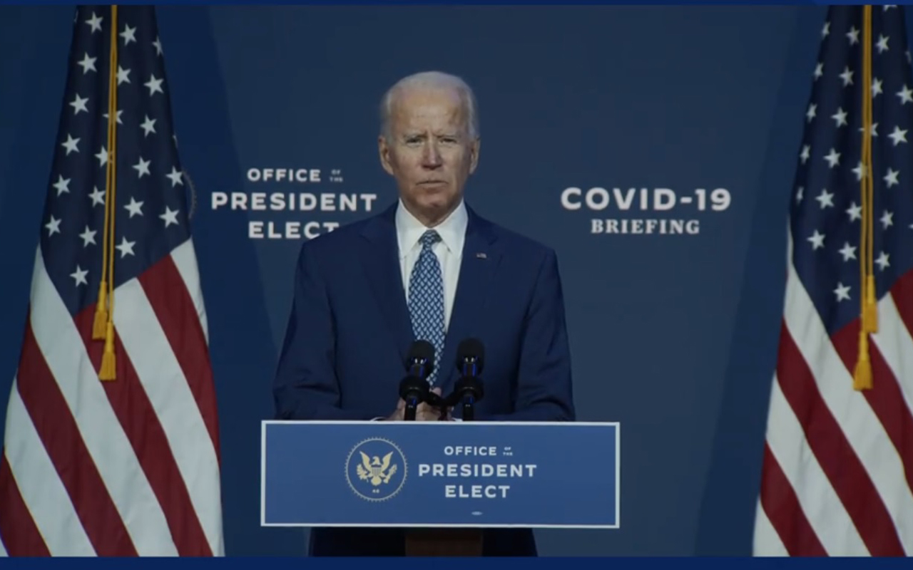 Biden presenta a grupo de expertos contra el Covid-19
