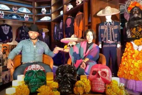 Ángela y Leonardo Aguilar