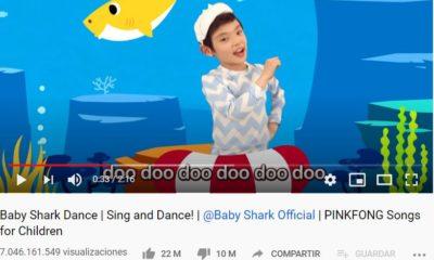 Baby Shark en Youtube