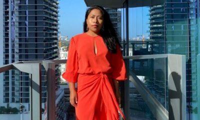 Yalitza Aparicio previo al Latin Grammy