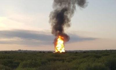Reportan explosión en ducto de Pemex en China, Nuevo León