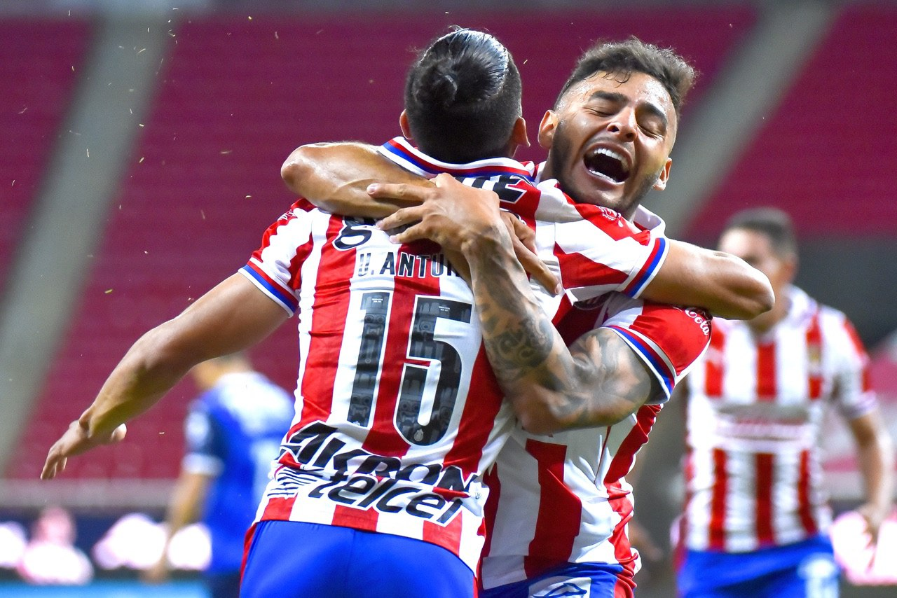 Chivas pierde a Alexis Vega. Foto: Twitter Chivas