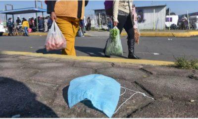 Detienen por no utilizar cubrebocas. Foto: Cuartoscuro