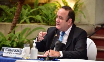 El presidente de Guatemala defiende la vida