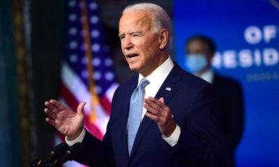 """Estados Unidos está listo para liderar al mundo"": Biden"