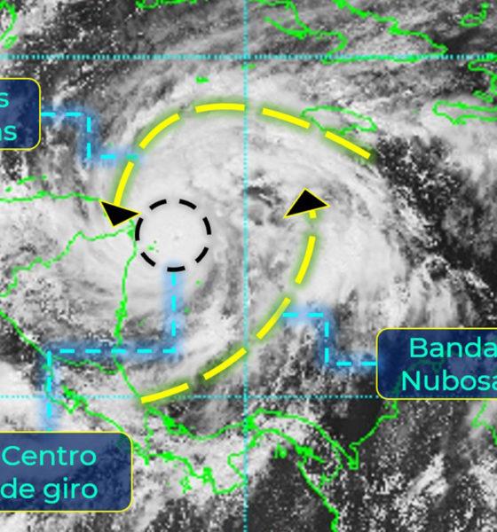 Eta se intensificó a Huracán categoría 3