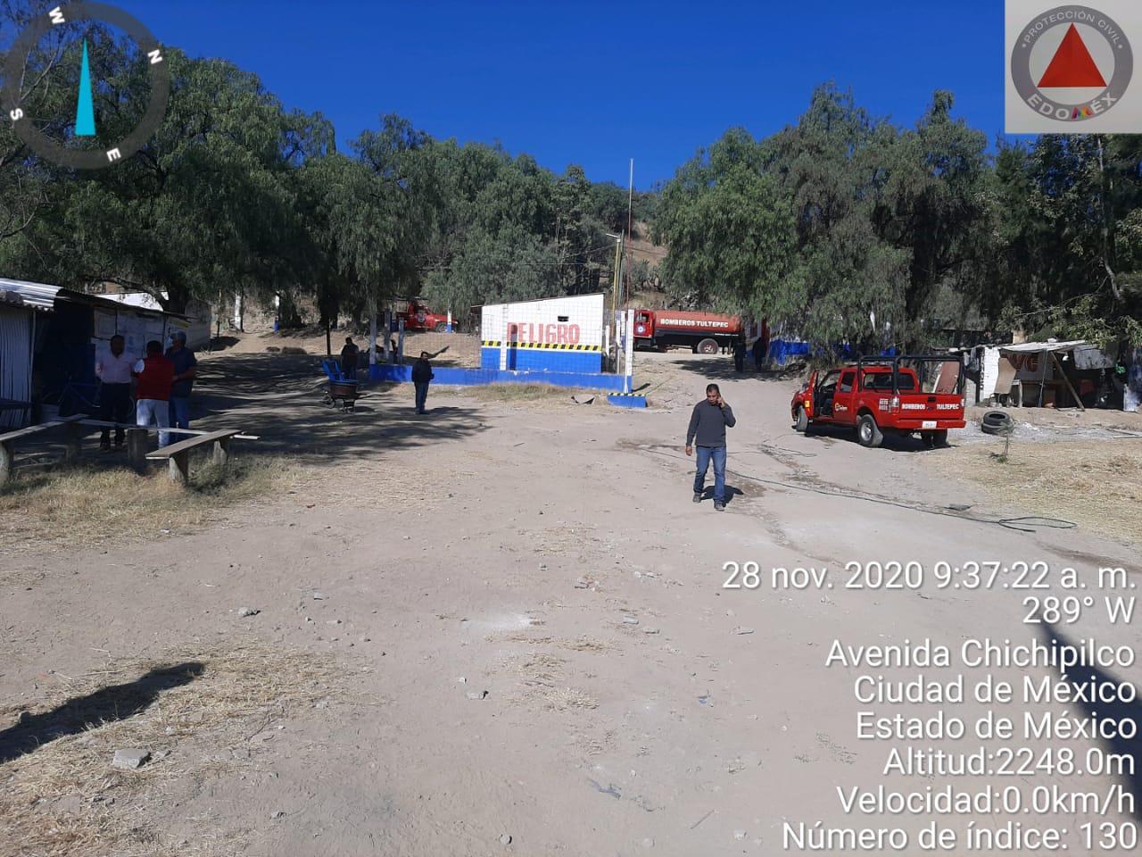 Explota Polvorín en Tultepec. Foto: Especial