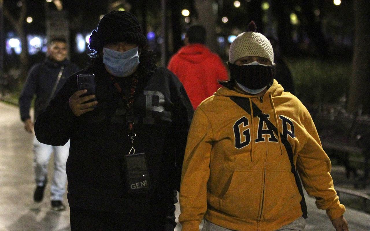 Continuará el frío por varios días en el Valle de México