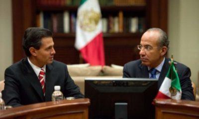 Peña Nieto y Calderón envían condolencias al presidente López Obrador