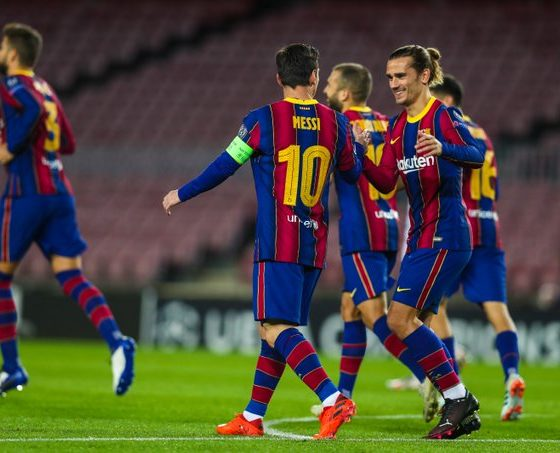 Koeman defiende a Messi. Foto: Twitter Barcelona