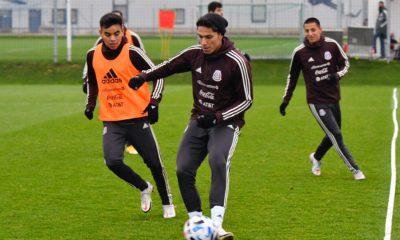 La selección mexicana podría sufrir por el Covid. Foto: Twitter Mi Selección