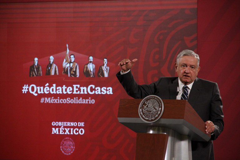 López Obrador evitó felicitar a Baiden. Foto: Cuartoscuro