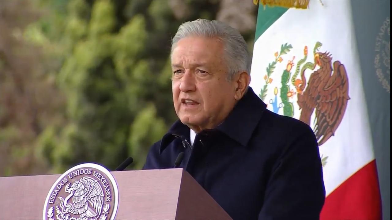 López Obrador quiere que no haya medidas. Foto: Conade