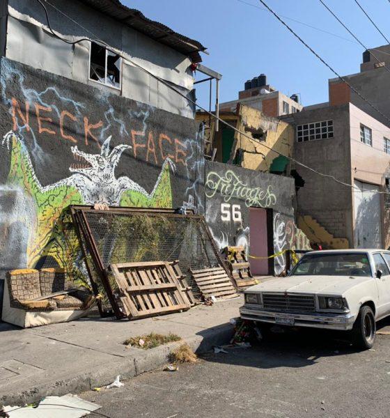 Lugar de la explosión. Foto: Israel Lorenzana