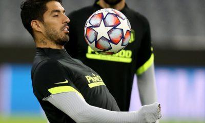 Luis Suárez queda fuera de Uruguay. Foto: Twitter Luis Suárez