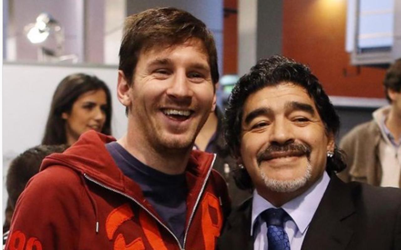 Pelé, Messi y CR7, tristes por muerte de Maradona