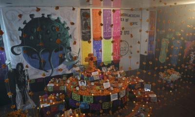 Internos de penales colocan ofrendas en memoria de víctimas de Covid