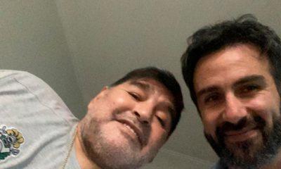 Operan con éxito a Maradona. Foto: Twitter