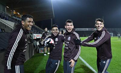 Peligra el partido de México ante Corea del Sur. Foto: Twitter Miselección