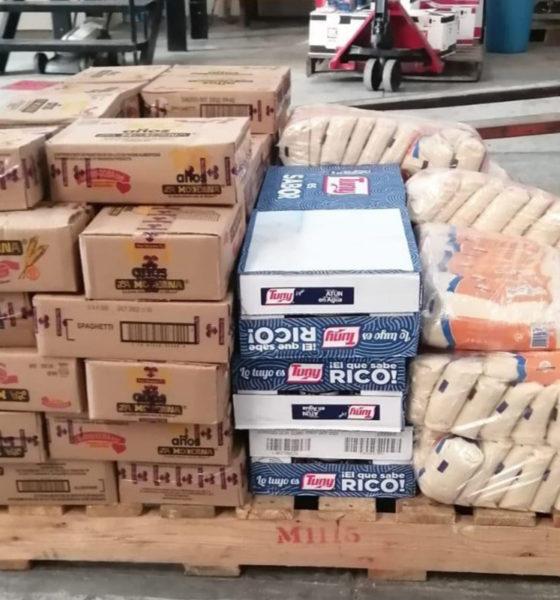 Rusia y Rumania envían despensas a damnificados de Chiapas y Tabasco