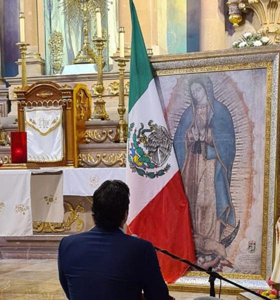 Verástegui pronuncia la consagración de todos los laicos mexicanos a la Virgen de Guadalupe