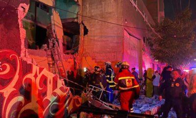 Video capta la explosión en la colonia Morelos. Foto: Israel Lorenzana