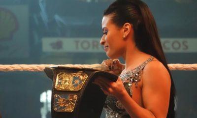 WWE despide a Zelina Vega. Foto: Twitter Zelina Vega