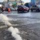 Fuga de agua inunda calles de la colonia Guerrero