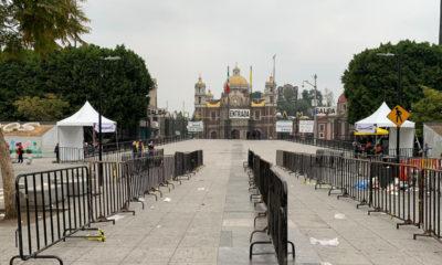 Instalan filtros para acceso a la Basílica de Guadalupe