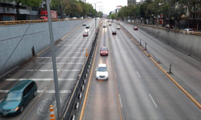 Habilitan carriles reversibles en Circuito Interior
