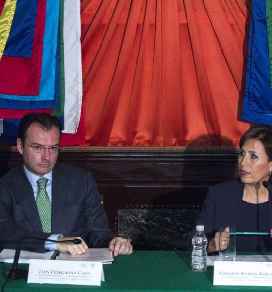 """Se deslinda Videgaray de """"Estafa Maestra""""; miente Rosario Robles"""