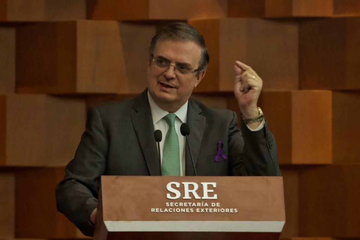 Retiro de cargos contra Cienfuegos no es impunidad, es respeto a México: Ebrard