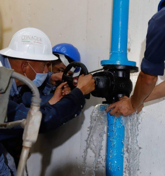 Anuncian recorte a suministro de agua en plena pandemia