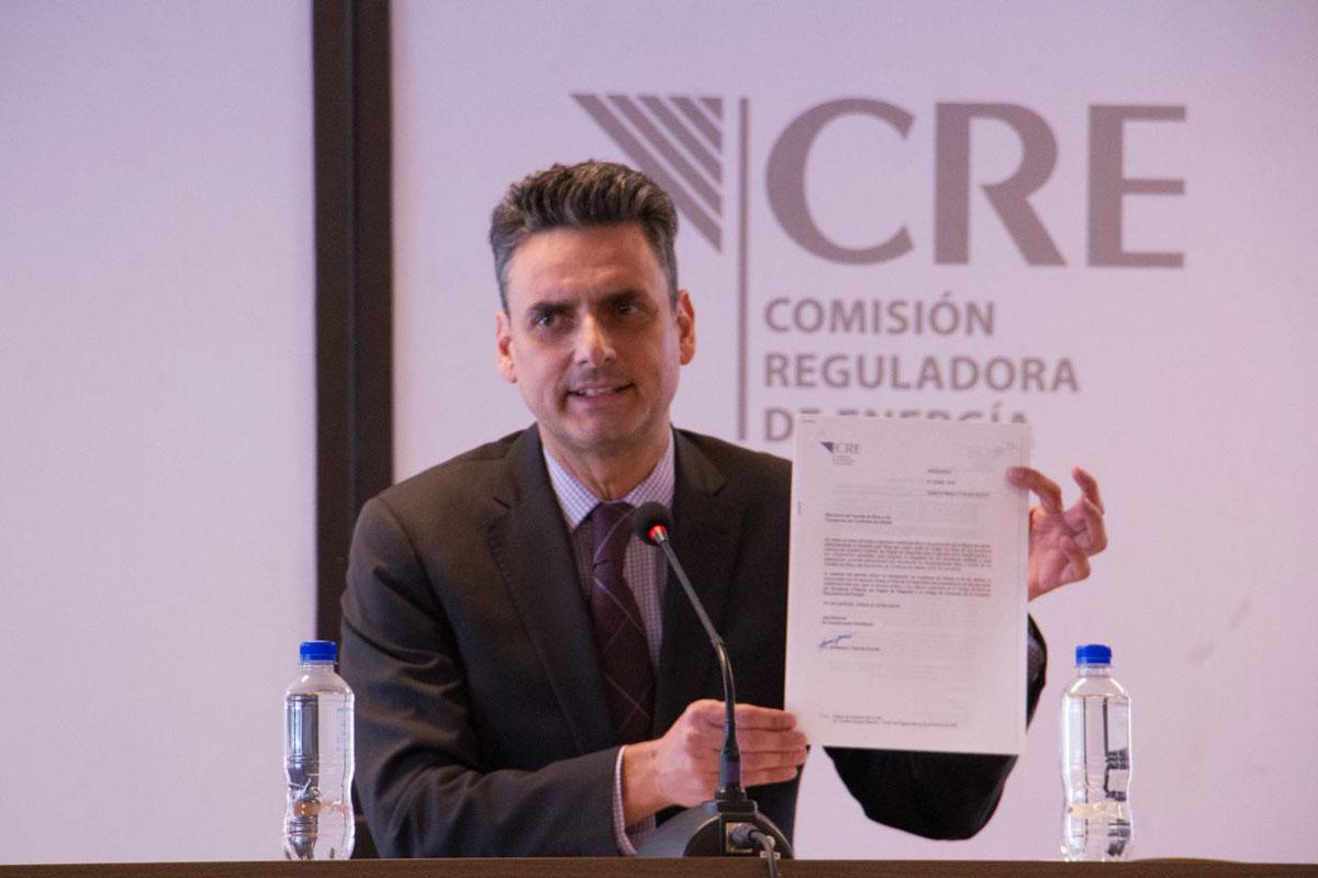 """La sanción al expresidente de la CRE """"es resultado de una detallada investigación y procedimiento sancionatorio en el que se constató estar en una situación de conflicto de intereses."""