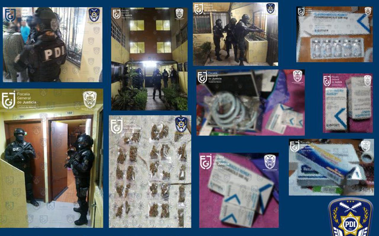 Tras cateo en GAM, encuentran medicamentos robados
