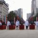 Condecoran a médicos durante ceremonia de la Revolución Mexicana