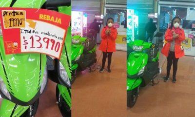 walmart, motocicleta, Italika, oferta