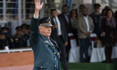 Salvador Cienfuegos Zepeda, ex secretario de la Defensa Nacional