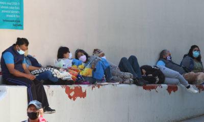 Técnicos del IMSS llevan mensajes de aliento a pacientes Covid