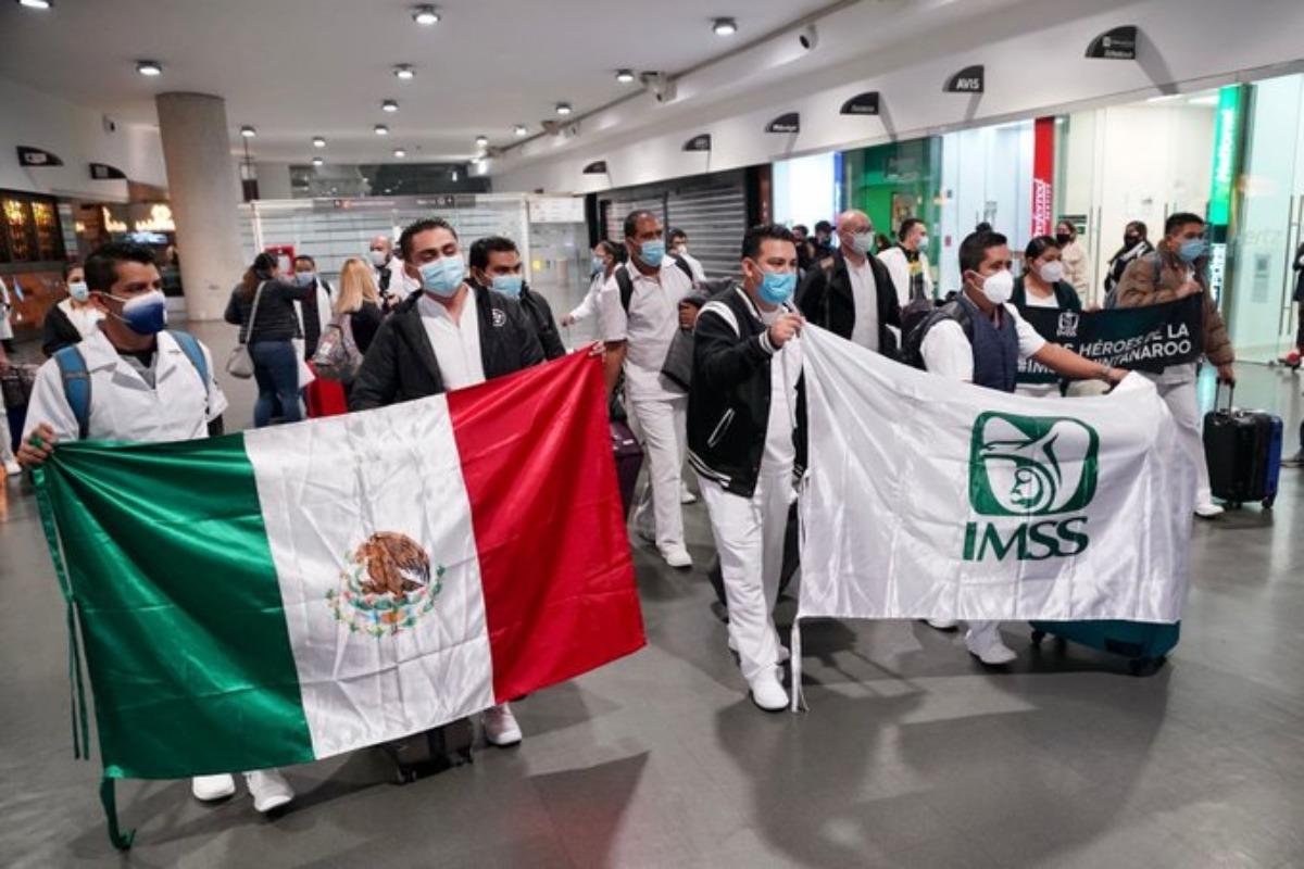 Llegan médicos de la Operación Chapultepec a la CDMX