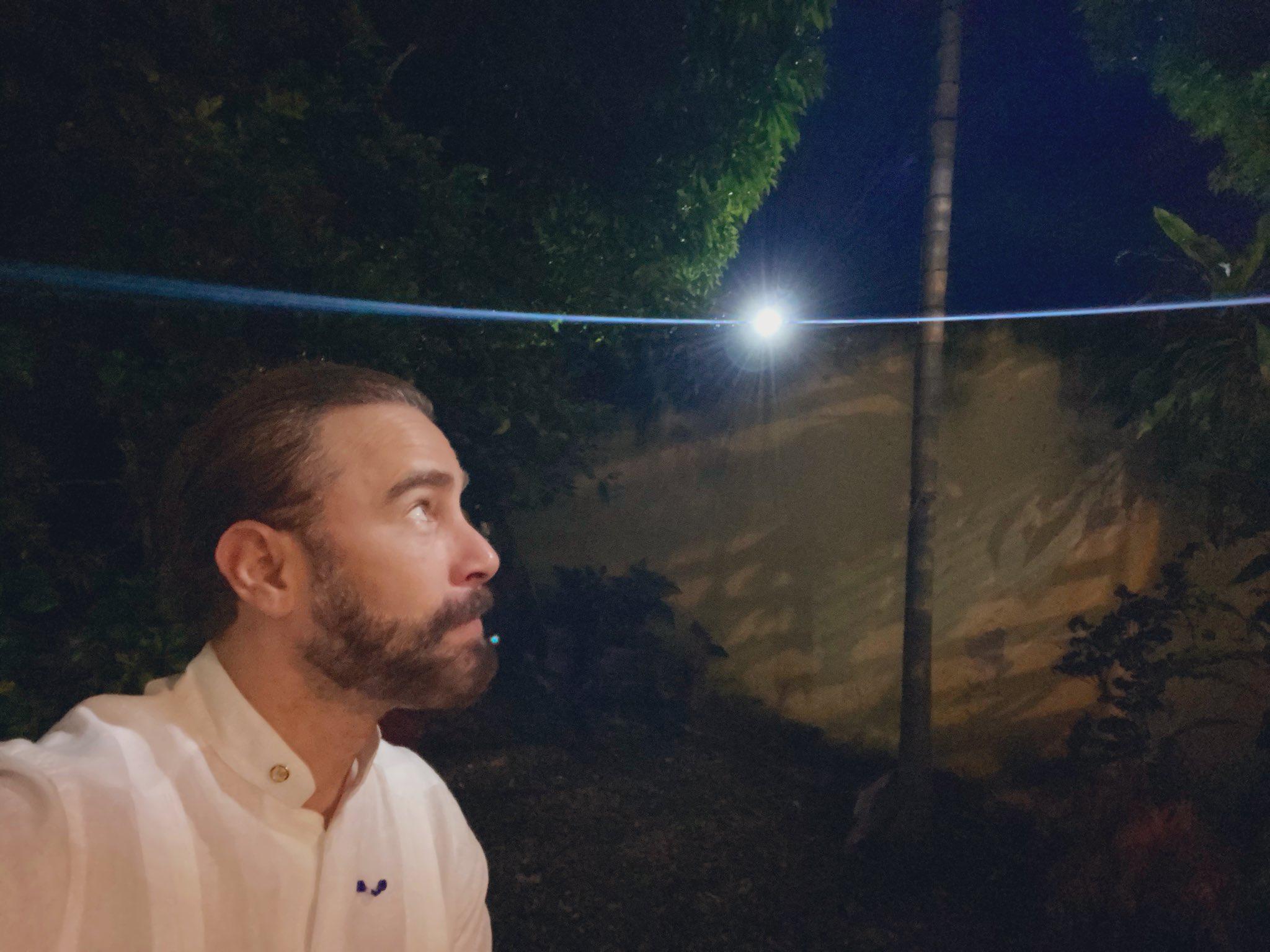 Actor Carlos de la Mota dio positivo por Covid-19. Foto: Twitter