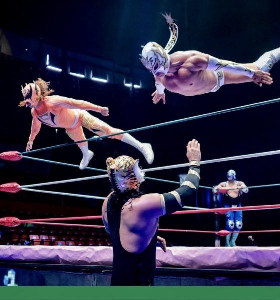 Cancela CMLL evento de lucha libre. Foto: Twitter CMLL