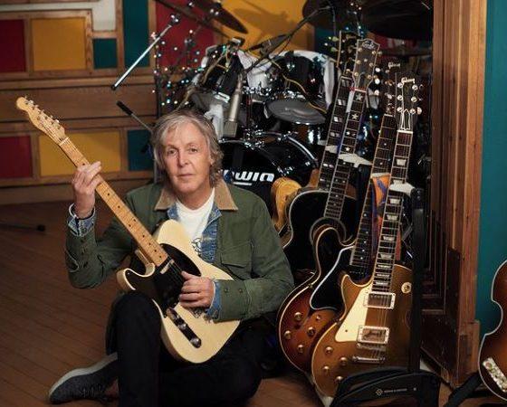 Paul McCartney en cuarentena