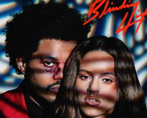 Blinding lights Rosalía y The Weeknd
