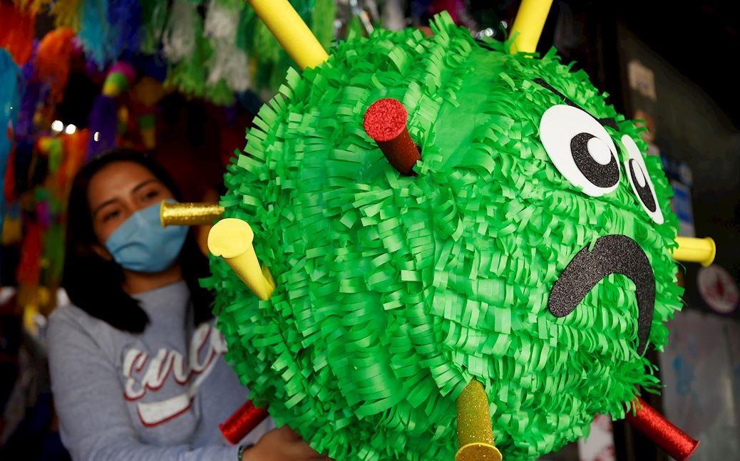 La piñata del Covid