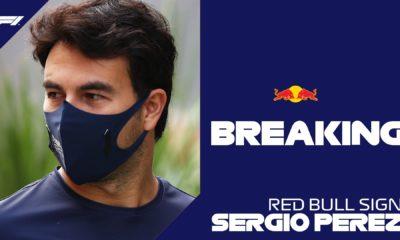 Checo Pérez ya es piloto de Red Bull. Foto: Twitter