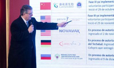 Ebrard: Plan Nacional de Vacunación se llevará a cabo en tiempo y forma
