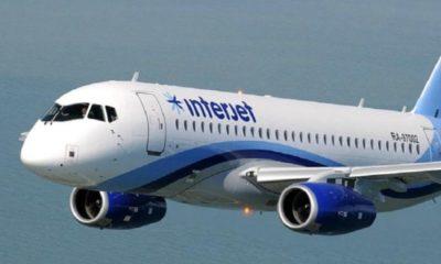Interjet no despega; cancela vuelos en lo que resta del año
