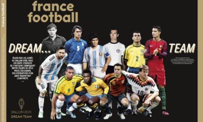 France Football fio a conocer el once ideal de todos los tiempos: Foto: France Football