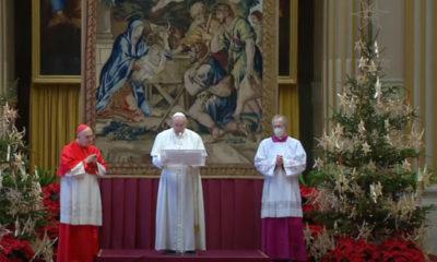 El deseo de Navidad es que haya vacunas para todos: Papa Francisco